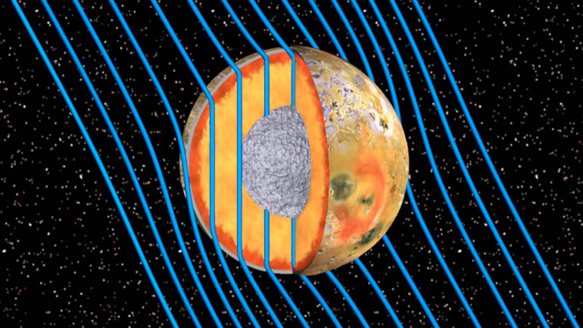 Beneath the surface of Jupiter's moon Io, there is an ocean of magma over 30 miles deep