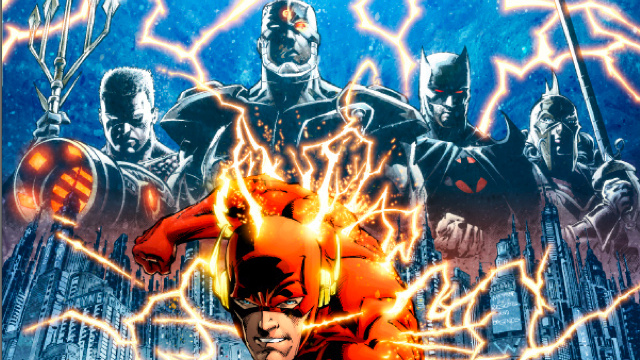 The Flash runs into a crazy alternate universe in Wednesday's comics!