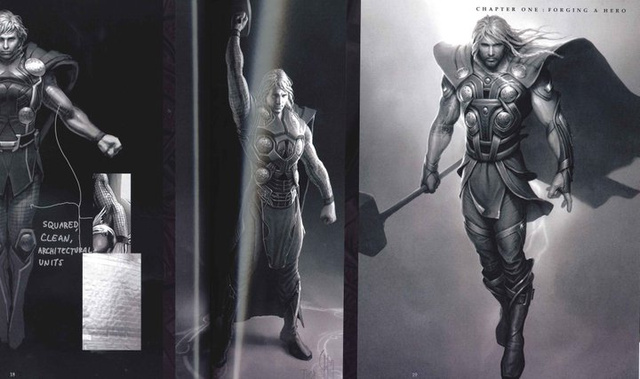 What's in Odin's Vault? Plus other cool stuff from the Art of Thor