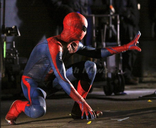 Spider-Man BTS