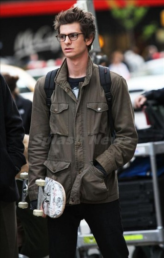 Amazing Spider-Man Set Pictures