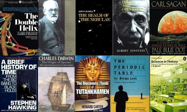 25 Great Books By Legendary Scientists