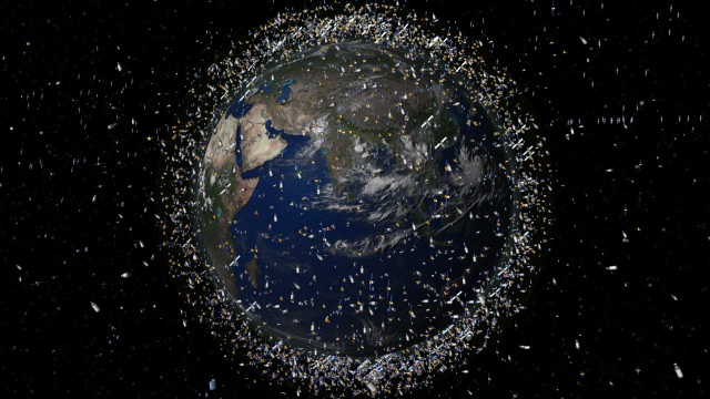 Why a tungsten dust cloud could help solve the space junk crisis