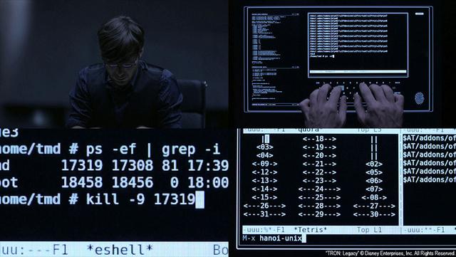 How physics simulations and GNU emacs found their way into Tron Legacy
