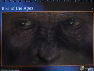 First look at the CG face of Caesar from Rise of the Apes