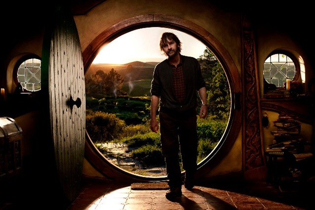 Two new Hobbit set pics take us inside Bilbo Baggins' home