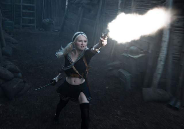 45 images from Sucker Punch show off Zack Snyder's underwear warrior women