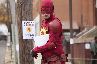 The Amazing Wrongness of Rainn Wilson's New Superhero Movie