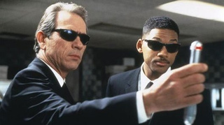 Is Men In Black 3 halfway through filming without a script?