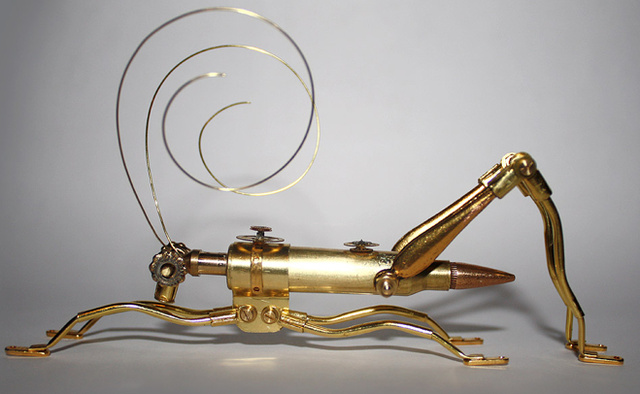 Meet the steampunk arthropods who will infest your airship