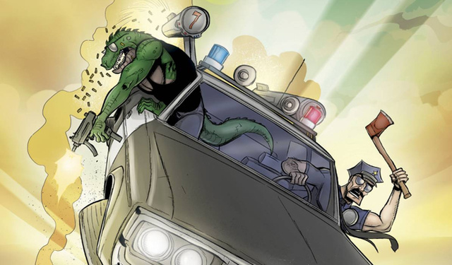 How Axe Cop's artist took us to Bad Guy Earth to kill villains - and conquered the the internet