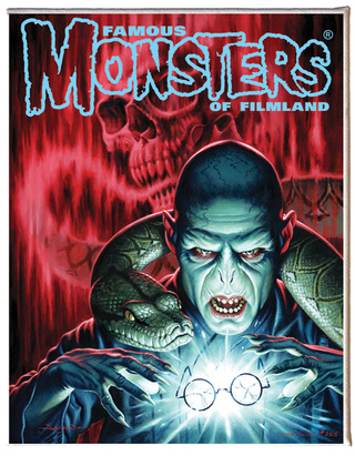 Own these Famous Monsters covers and horrify your friends!