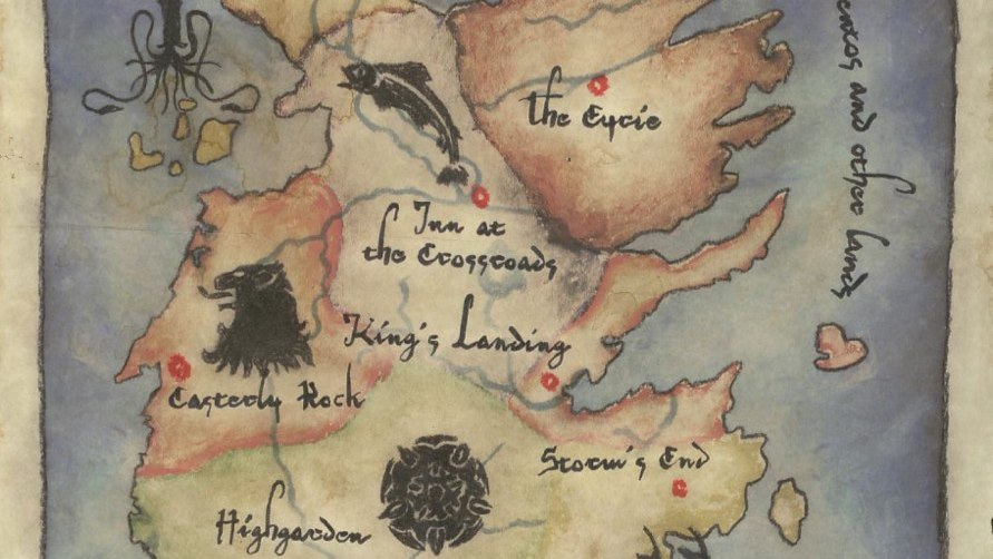 Explore the 7 k... A Feast For Crows Map
