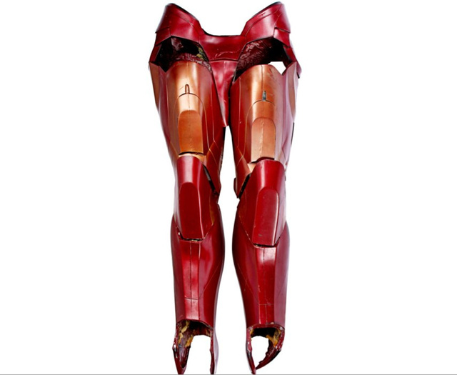 Prop auction offers Cylon blood, Iron Man's legs, and Hulk heads