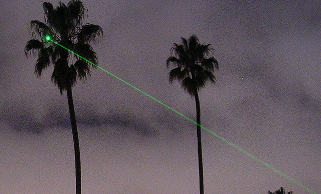 Laser attacks on planes doubled in 2010