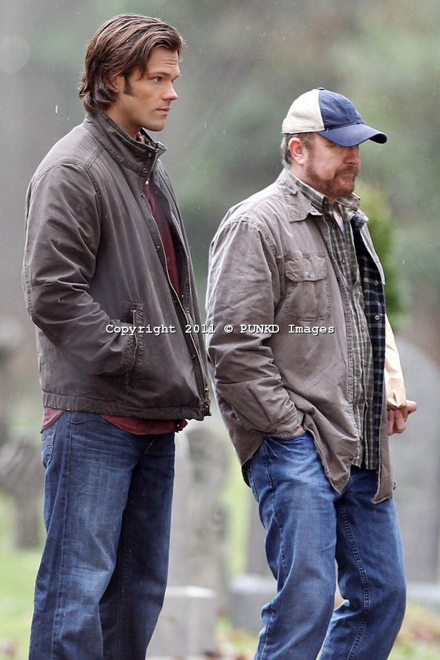 Supernatural set photos