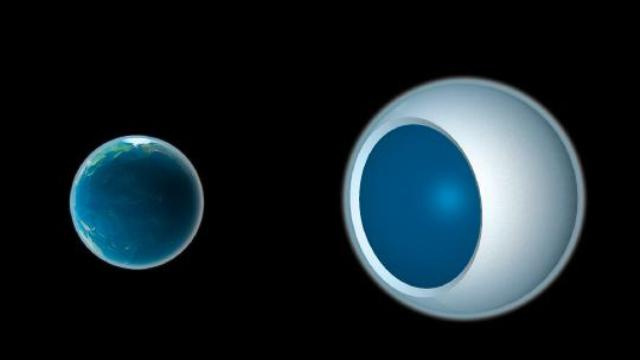 Earthlike planet Zarmina's bizarre climate makes it look like a giant eyeball