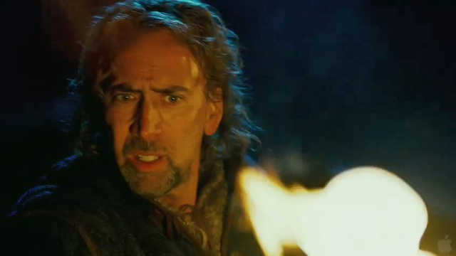 Nic Cage pays tribute to Monty Python with Season of the Witch
