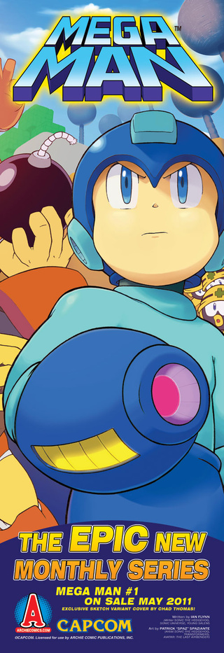 An exclusive first look at the new Mega Man comic