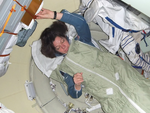 Rare Images From Inside a Soyuz During Flight