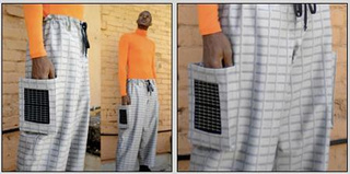 Solar-powered pants are now on the market