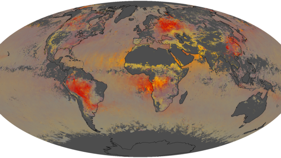 Find out what particles are hiding in the air all around you with this awesome map