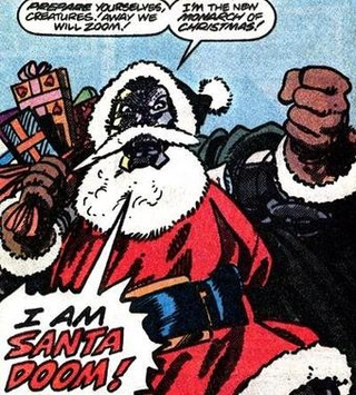 The many science fiction explanations for Santa Claus