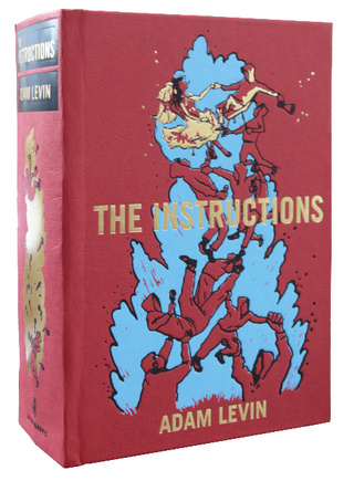"Adam Levin's apocalypse novel ""The Instructions"" is a Jewish version of Watchmen"