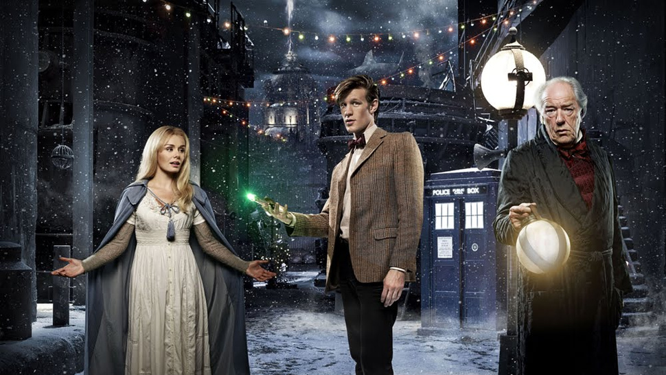 Doctor Who Christmas Episode promo pics