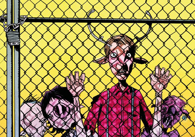 Jeff Lemire tells us about the post-apocalyptic manimals of Sweet Tooth