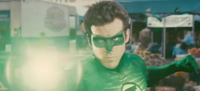 Is this the first image of Green Lantern's alien villain Parallax?