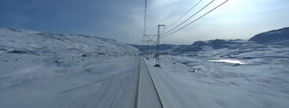 Watch a 7-hour train ride through Norway set entirely to electronic music