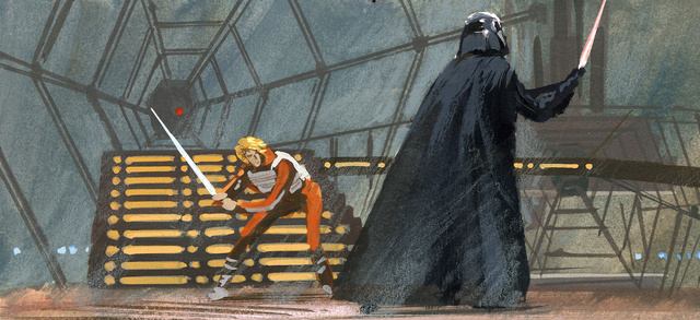 The Luke/Vader fight
