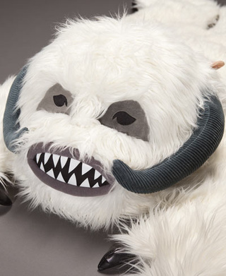 Curl up on your own Wampa Rug for those chilly Hoth nights