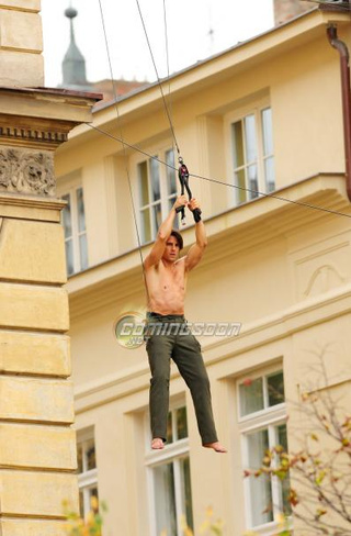 Mission Impossible 4 set pics