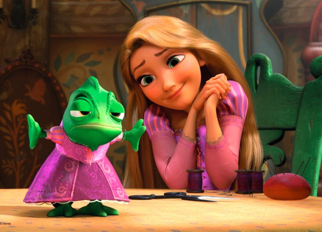 Tangled takes us back to when Disney's princesses reigned supreme