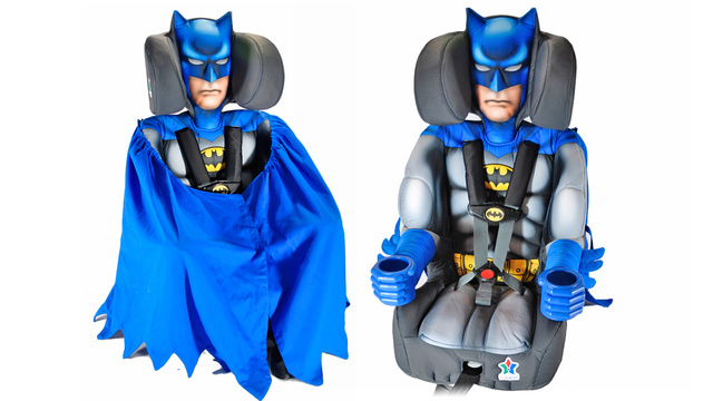 Click here to read Your Child Will Never Be Safer In a Car Than In the Arms of Batman