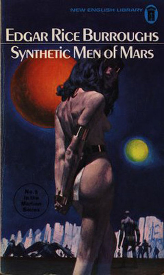 In Burroughs' final Barsoom series, we see urban Mars, synthetic flesh, and Nazis of Jupiter