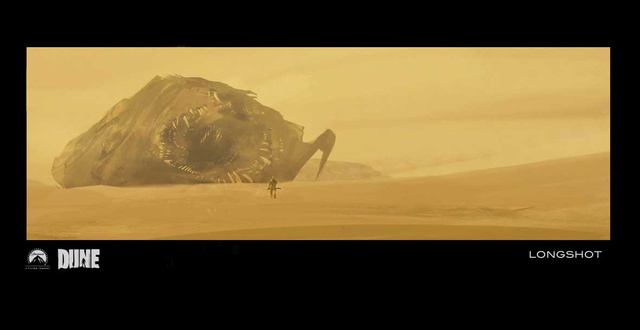 Sandworms and Fremen caves: concept art for the Dune movie that never was