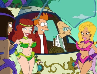 Futurama reveals a love story that spans the entire history of the universe...twice