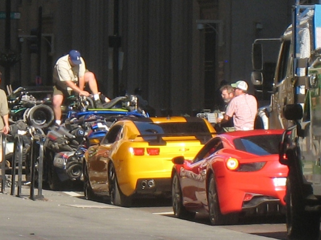 Transformers Chicago Filming, Part 2