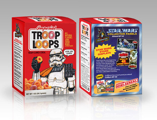 From Grape-Hutts to Count Dookula: fake Star Wars cereals