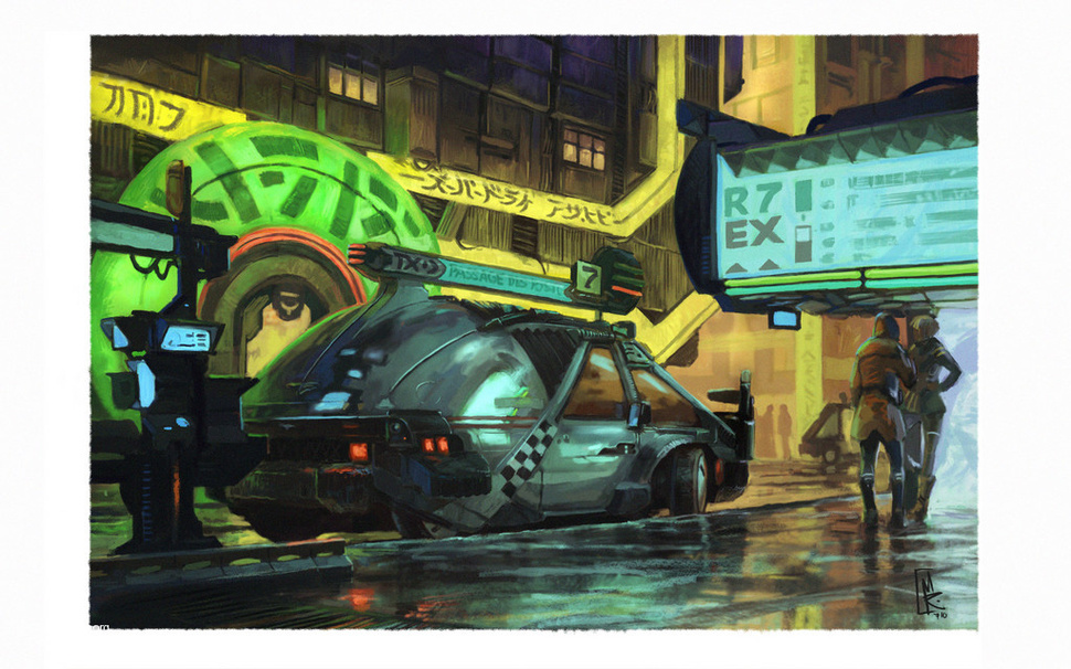 Syd Mead on Blade Runner