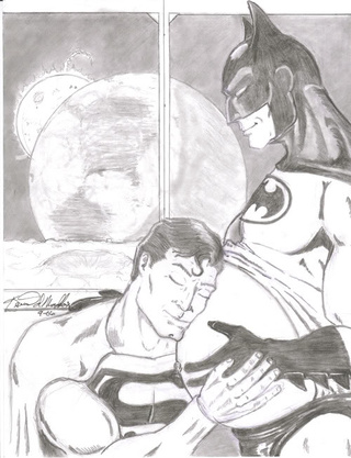 Batman's made up his mind, he's keeping Superman's baby