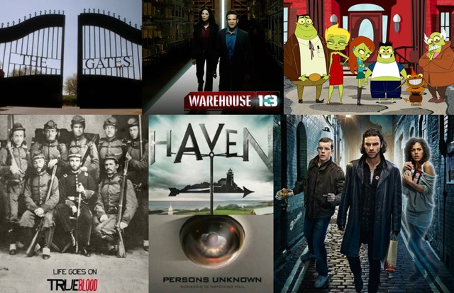 Vampires, ghost towns and Futurama: io9's Summer TV Guide