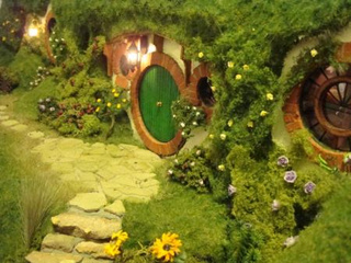 The perfect home for the world's tiniest hobbits