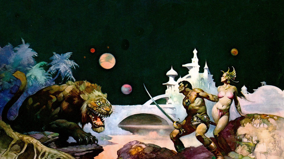 R.I.P. Frank Frazetta, The Artist Of Our Fantasies