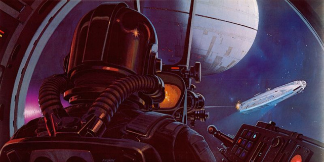 Stormtroopers Have Lightsabers And C-3PO Has Breasts In Ralph McQuarrie's Star Wars Art
