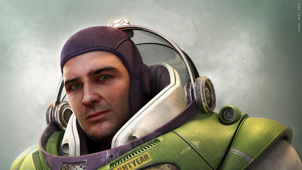 Stare Into The Real-Life Eyes Of Buzz Lightyear