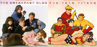 Comic Book Hero Album Remix: The Teen Titans Club